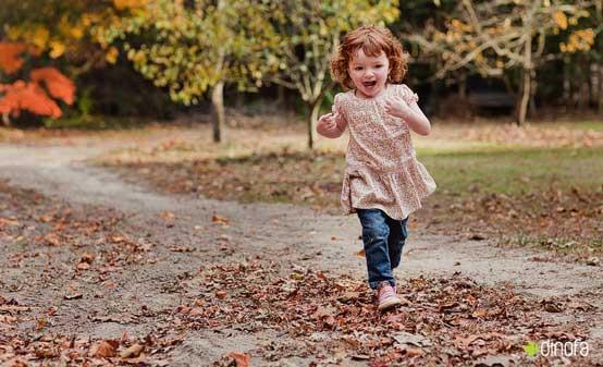 كاری كنید کودکات در هنگام عکاسی احساس راحتی بكنند