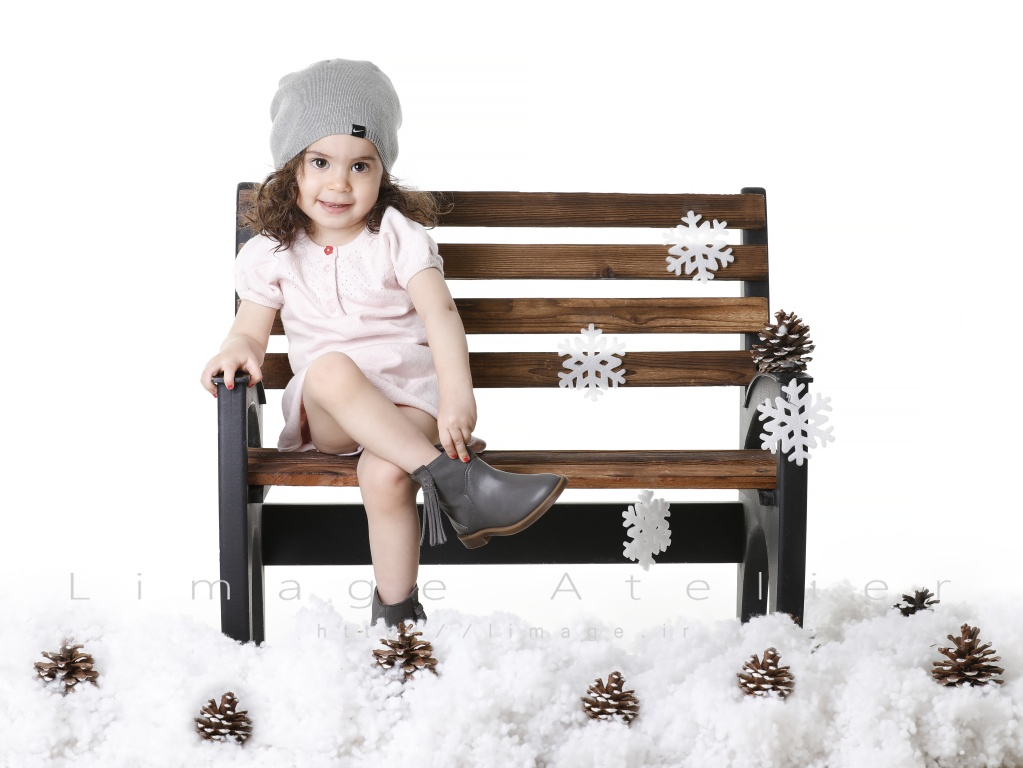 عکاسی از کودک در زمستان