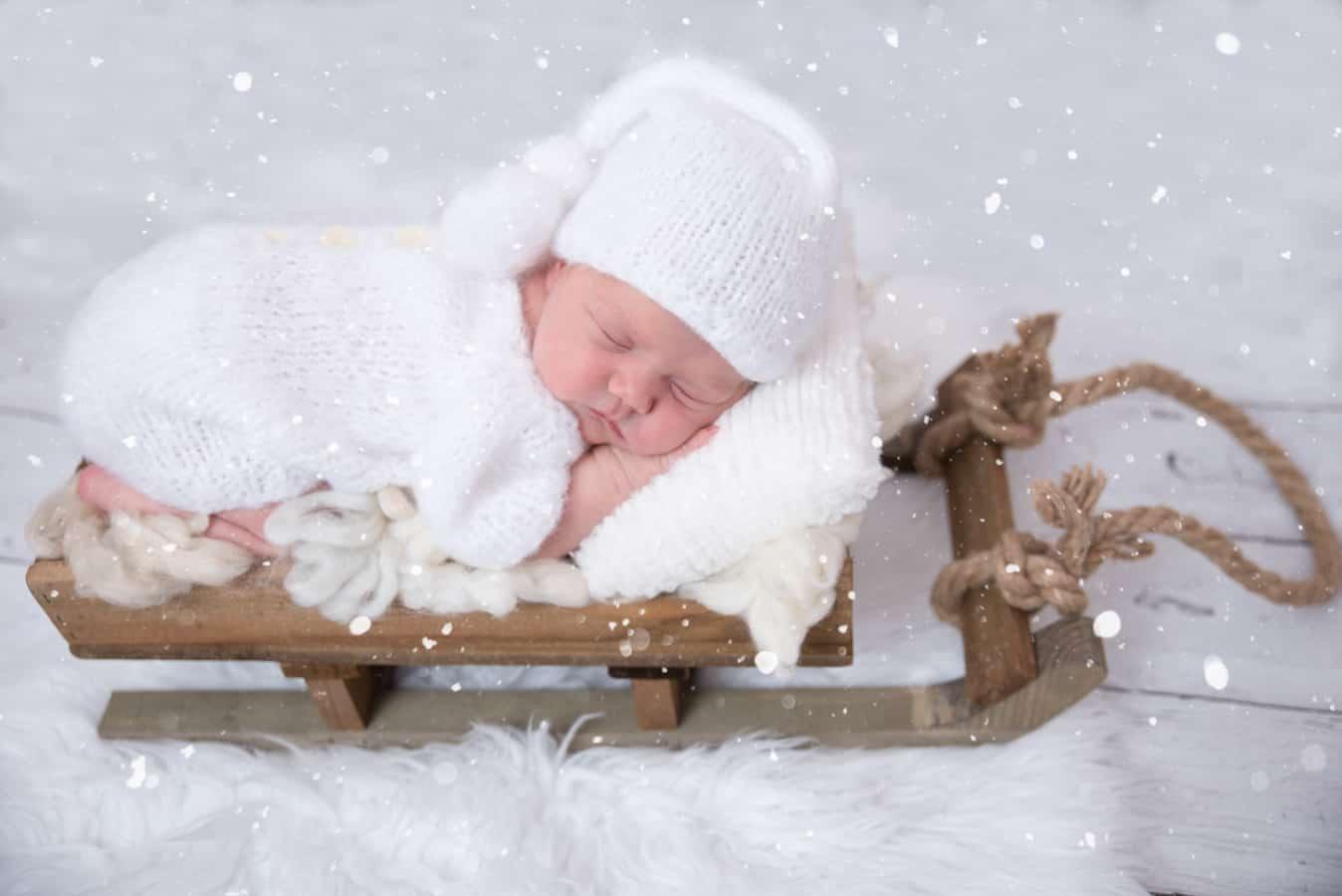 طراحی تم زمستان آتلیه عکاسی