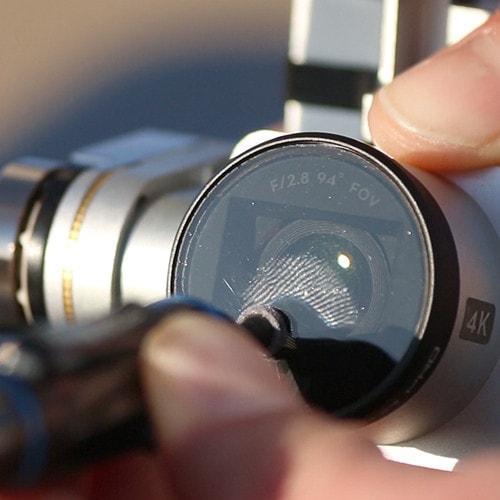 پاک کننده لنز دوربین