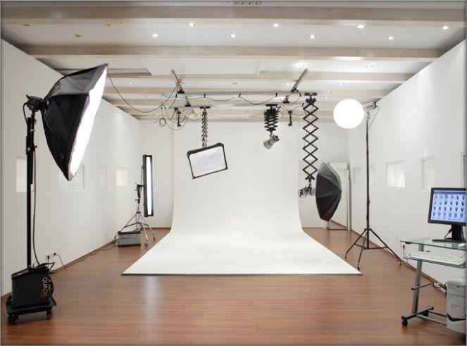 چیدمان و دکوراسیون استودیوی عکاسی