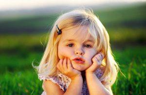 عکس کودک در فضای باز